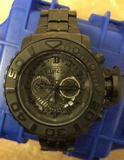 Invicta Sea Hunter iii 70mm Black Stealth Gen II Swiss Steel Watch New 22135