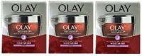 Olay Regenerist Micro-Sculpting Cream, Anti Aging Moisturizer, Night, 50g (3 Pk)