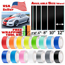 Gloss Color Racing Stripes Vinyl Wrap For Infiniti G37 Stripe Sticker 25FT /50FT