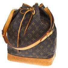 Authentic LOUIS VUITTON Noe GM Shoulder Bag Monogram Leather BN M42224 32MD706