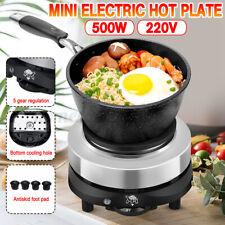 500W Mini Electric Heater Stove Hot Cooker Plate Milk Water Coffee Heatin EU