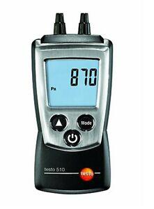 Testo 510 Diffirential Pressure Meter Instrument Digital Manometer 05630510