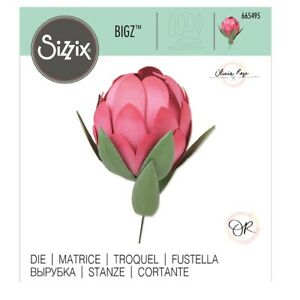 SIZZIX® BIGZ DIE - PROTEA (BUILD A 3D FLOWER) - RRP £17.99 NOW £14.99 - FREE P&P