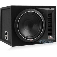 Rockford Fosgate 500W Punch Single P1 10 Inch Loaded Subwoofer Enclosure P1-1X10