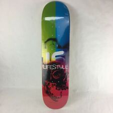 "Lifestyle mini skateboard Canadian maple deck  7.25 x 29.25"" -  D28"