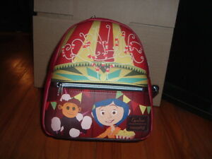 LOUNGEFLY CORALINE MINI BACKPACK~ WITH TAGS~ BRAND NEW~