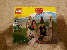 LEGO 40197 Wedding Favor Set Bride and Groom 2 Minifigure Cake Topper 2018 New