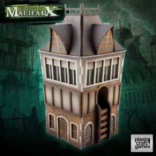 Malifaux 28mm Terrain THE TOWER Plast Craft Mordheim Skirmish Victorian WFB Lot