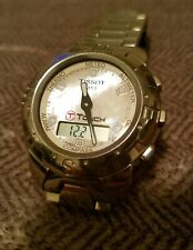 Tissot T Touch Titanium Mother of Pearl Dial/ Works Perfectly/ Many Fuctions!!!!