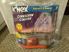K'Nex Corkscrew Coaster Roller Coaster Motorized New- In Packaging
