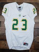 Oregon Ducks NCAA Football Nike Compression Jersey Men's Large #23