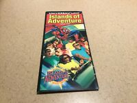 Vintage Universal Studios Florida Islands of Adventure Park Brochure 2002