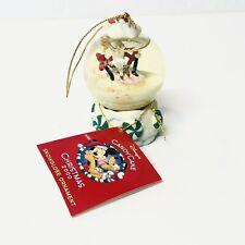 2000 Disney Nightmare Before Christmas Jack Santa Candy Cane Snowglobe Ornament
