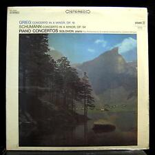 SOLOMON grieg & schumann piano concerto LP Sealed SPC-4034 Stereo USA