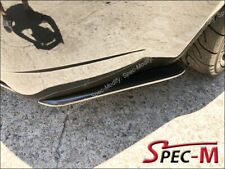 E Style Carbon Fiber Rear Bumper Extension Splitter Lip For BMW E92 E93 M3 Only