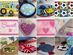 Children's Novelty Rugs / Mats for Boys & Girls - Bedroom Accessories for Kids