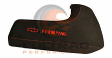 2016-2019 Camaro Genuine GM Console Lid Suede Red Performance Logo 84092725