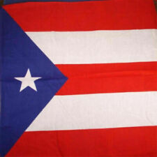 "Puerto Rico Cotton Bandana (22"" x 22"")"