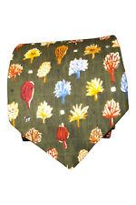 * YVES SAINT LAURENT * Hommes Cravate en soie Arbre Vert répéter (57 L)