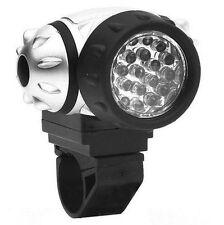 Ultra Bright 37 LED IMPERMEABILE TORCIA TESTA LUCE PER BICI NUOVO