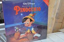 "Masterpiece ""Pinocchio"" LASERDISC LD NTSC 1940 Walt Disney  mmoetwil@hotmail.com"