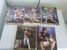 Beckett Baseball Card Guide Lot Of 5 1992