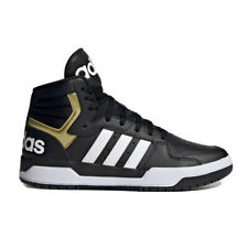 Adidas Entrap Mid Men's Athletic Sneaker Black Casual Basketball Shoe Trainer