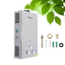 Ridgeyard 12L Tankless LPG Gas Hot Water Heater Bathroom Instant Boiler 20KW