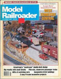 Model Railroader - October 1987
