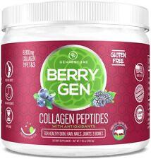 Berry Gen Restore - Dual Action Collagen & Antioxidants, Grass-Fed Collagen