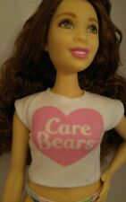 NEW WHITE CARE BEARS T-SHIRT FOR Barbie doll