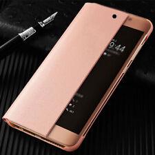 Para Samsung Galaxy Note 20 Ultra S20 S10 Smart View Cuero Abatible Plus Estuche Cubierta