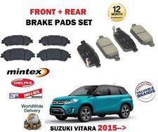 FOR SUZUKI VITARA 1.4 1.6 1.6TD 2015--> NEW FRONT + REAR BRAKE DISC PADS SET
