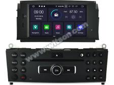 AUTORADIO Android 9.0 Navigatore Gps Mercedes Classe C W204 2007-2011 Canbus
