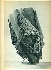 DZAMONJA - Dusan Dzamonja. Catalogo, Zurigo, Galerie Charles Lienhard, 1961