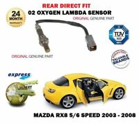 FOR Mazda RX8 1.3i 2003-2008 02 REAR DIRECT FIT OXYGEN LAMBDA SENSOR 5/6 SPEED