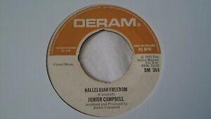 "Junior Campbell - Hallelujah Freedom 7"" Vinyl Single"