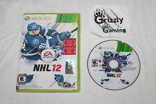 USED NHL 12 XBOX 360 (NTSC) Tested and Working!