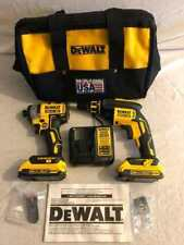 DEWALT DCK267D2 20V MAX* XR Drywall Screwgun and Impact Driver Combo Kit (2.0 Ah