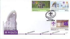 Malaysia 2014 Grand Opening World Scout Bureau FDC