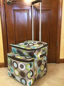 New Thirty-one rolling cooler leak lock thermal with telescoping handle