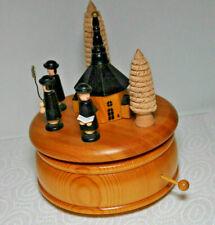 Holz  Spieluhr - Spieldose  - O Tannenbaum
