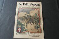 1 x Le Petit Journal SUPPLEMENT ILLUSTRE Numère 1277 vom 13 JUIN  1915 selten