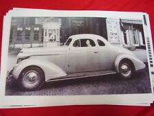 1937 NASH  AMBASSADOR  COUPE  BIG 11 X 17  PHOTO /  PICTURE