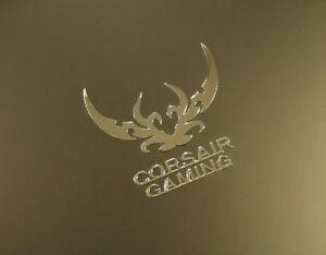 Corsair Gaming Label / Aufkleber / Sticker / Badge / Logo 30mm x 30mm [414]