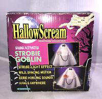 Vintage HallowScream 1995 Strobie Goblin Halloween Sound Activated Tested Work