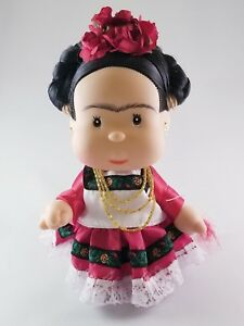 Beautiful Frida Kahlo Doll Authentic Collectible