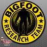 "Bigfoot Research Team ""YELLOW"" Sticker - Sasquatch Car Truck Window Decal FS381"