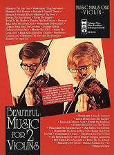 Music Minus One - Beautiful Music For Two Violins Vol.II - 2nd Position, New, Mu