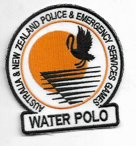 AUSTRALIA & NEW ZEALAND POLICE & EMERGENCY SERVICES GAMES WATER POLO PATCH
